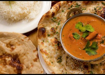 Curry-Rice-Naan