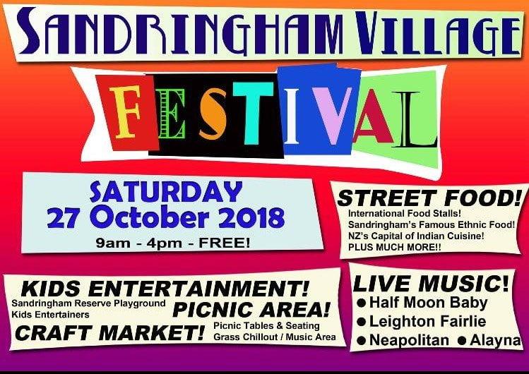 Sandringham Village Festival 2018 Auckland