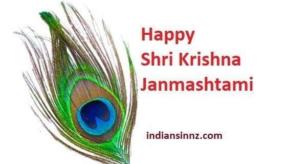 Happy Krishna Janma-ashtami indians in new zealand