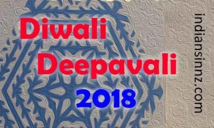 Diwali 2018 festival New Zealand न्यूजीलैंड दिपावली
