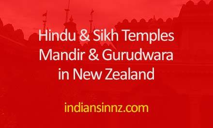 Temples in New Zealand