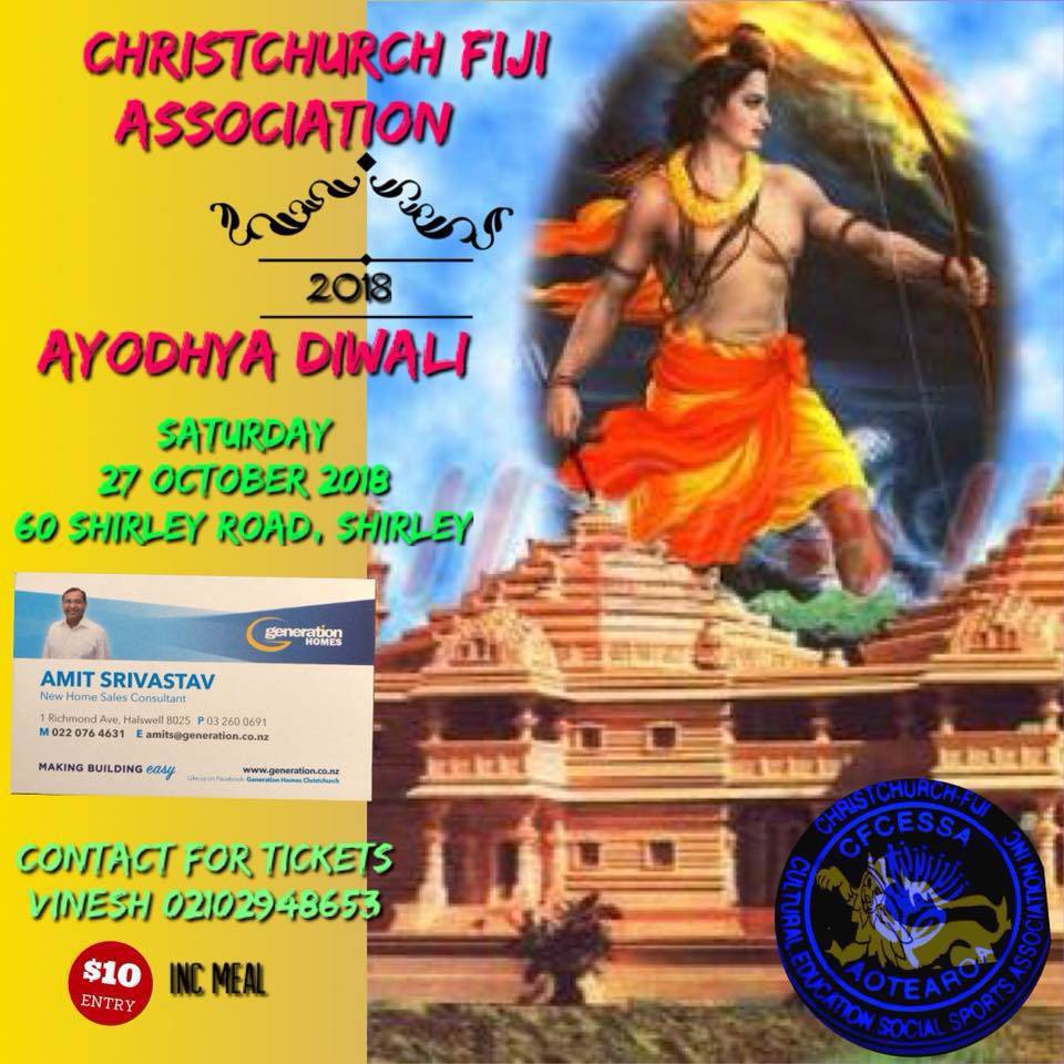 shirley-christchurch-fiji-diwali-2018-indians