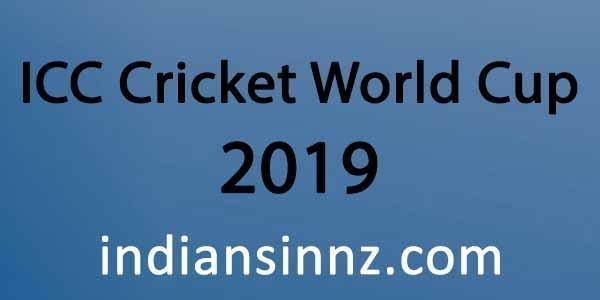 Cricket world cup 2019 indiansinnz.com