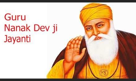 Guru Nanak Devji Jayanti