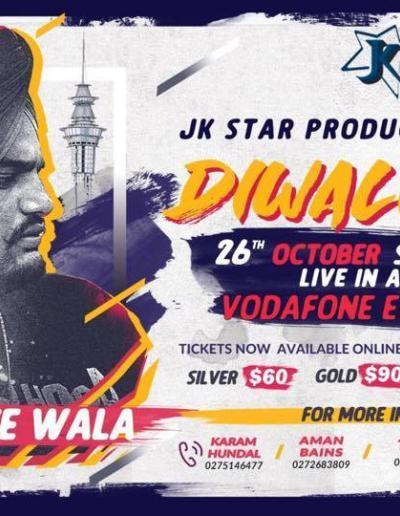 Diwali Mela with Sidhu Moosewala live in Auckland