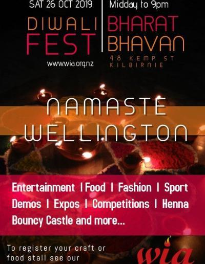 Wellington Diwali Fest 2019