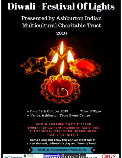 Ashburton Diwali Programme