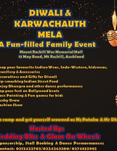 Diwali & Karwa chauth Mela Auckland