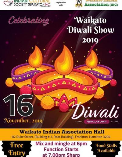 Waikato Diwali show