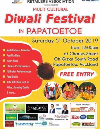 Diwali Festival Papatoetoe