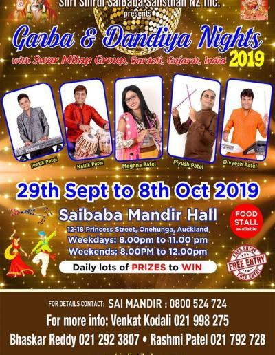 Sai Baba Temple Auckland 29 Sep - 8 Oct