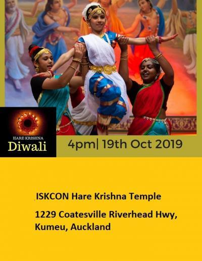 Hare Krishna Diwali