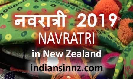 Navratri in New Zealand Auckland
