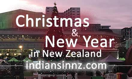 Christmas New Year New Zealand
