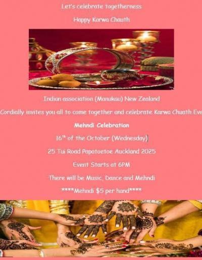 Karwa Chauth Eve Manukau Auckland