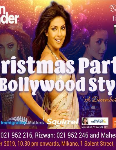 Christmas Party Bollywood Style