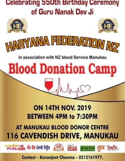 Blood Donation Camp Manukau