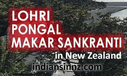 Lohri, Pongal and Makar Sankranti in New Zealand