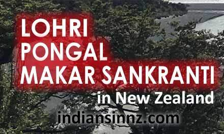 Lohri, Pongal and Makar Sankranti in New Zealand