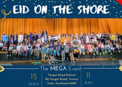 Eid on the Shore Auckland 2021